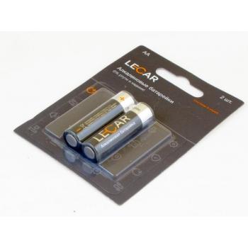 Алкалиновые батарейки LECAR АA (2 шт. в блистере)   LECAR000043106
