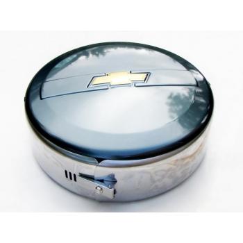 Колпак запасного колеса из нержавеющей стали(Сочи 360) R15(Шевроле Нива)   175045482021