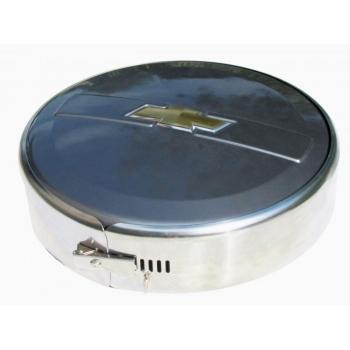 Колпак запасного колеса из нержавеющей стали(Кварц 630) R15(Шевроле Нива)   175045482016
