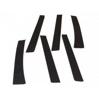 Комплект самоклеющихся накладок стоек дверейШевроле Нива)   21230821232000